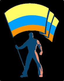Covid Flag 3